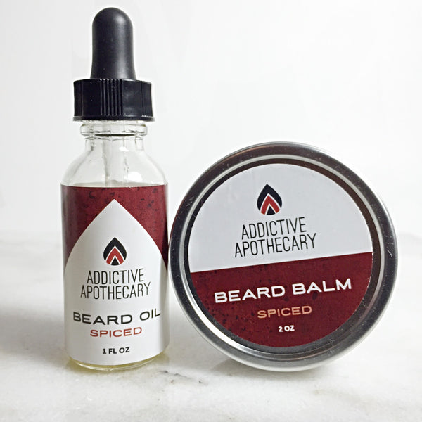 Spiced Beard Treatment Set
