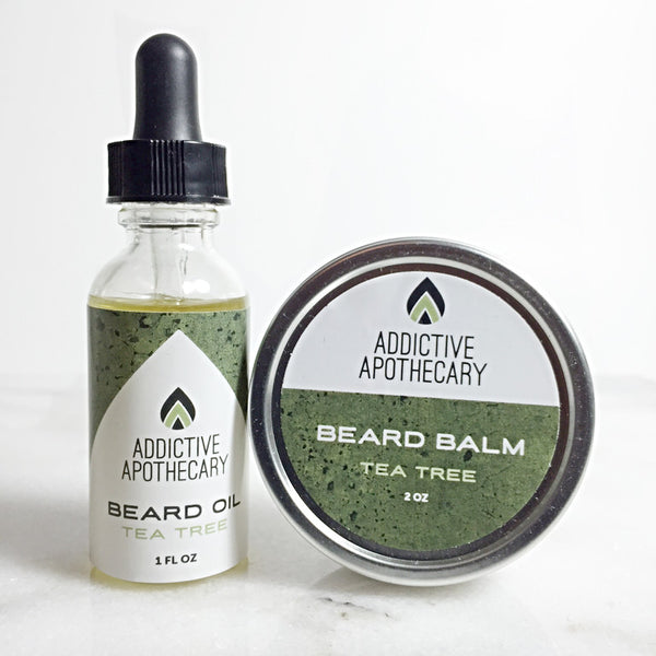 Tea Tree Beard Treatment Set