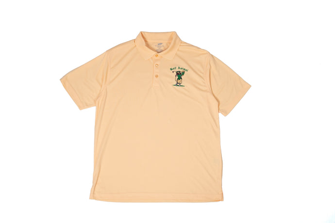 Short Sleeve Polo - Golf Animal (Lion)