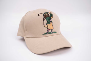 Golf Hat (Unisex) - Golf Animal (Lion)
