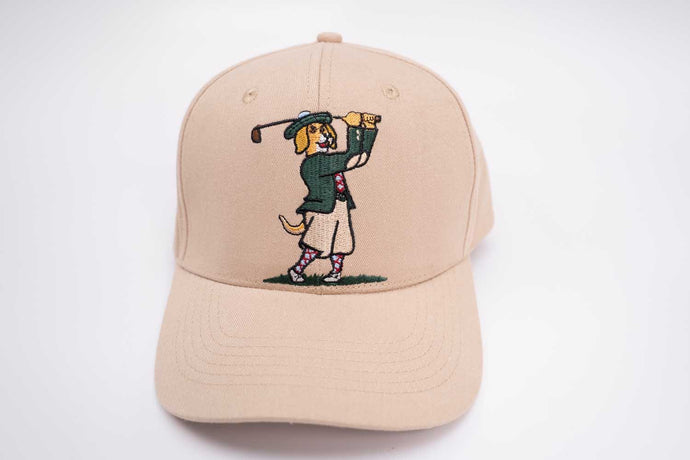 Golf Hat (Unisex) - Golf Animal (Dog)