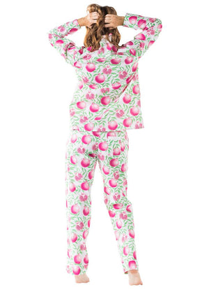 Women's Pomegranate Shirt + PJ Pant Set