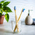 2-Pack OLA Tech Bamboo Toothbrushes
