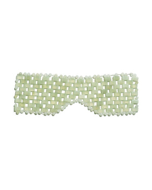 ISLAND JADE Gemstone Eye Mask
