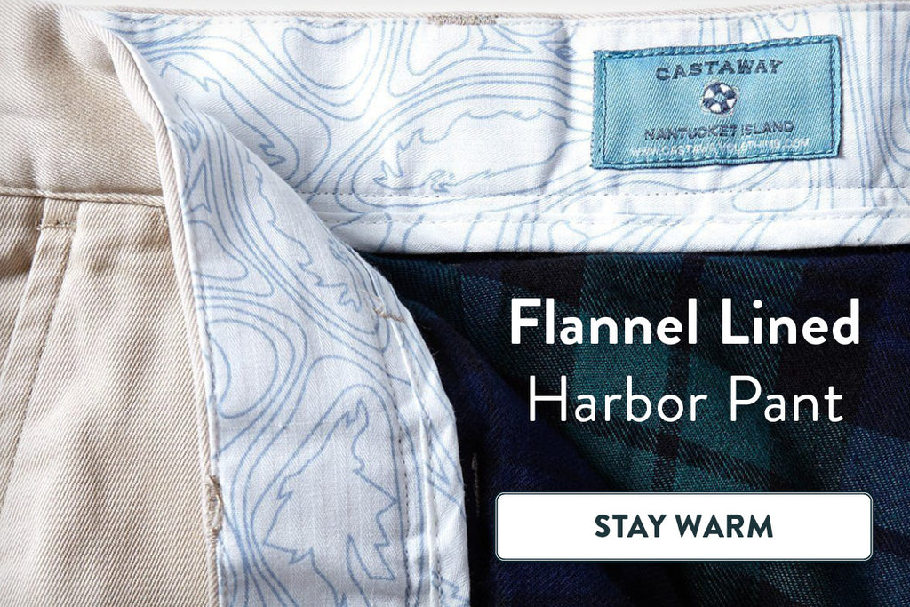 Flannel Lined Harbor Pant