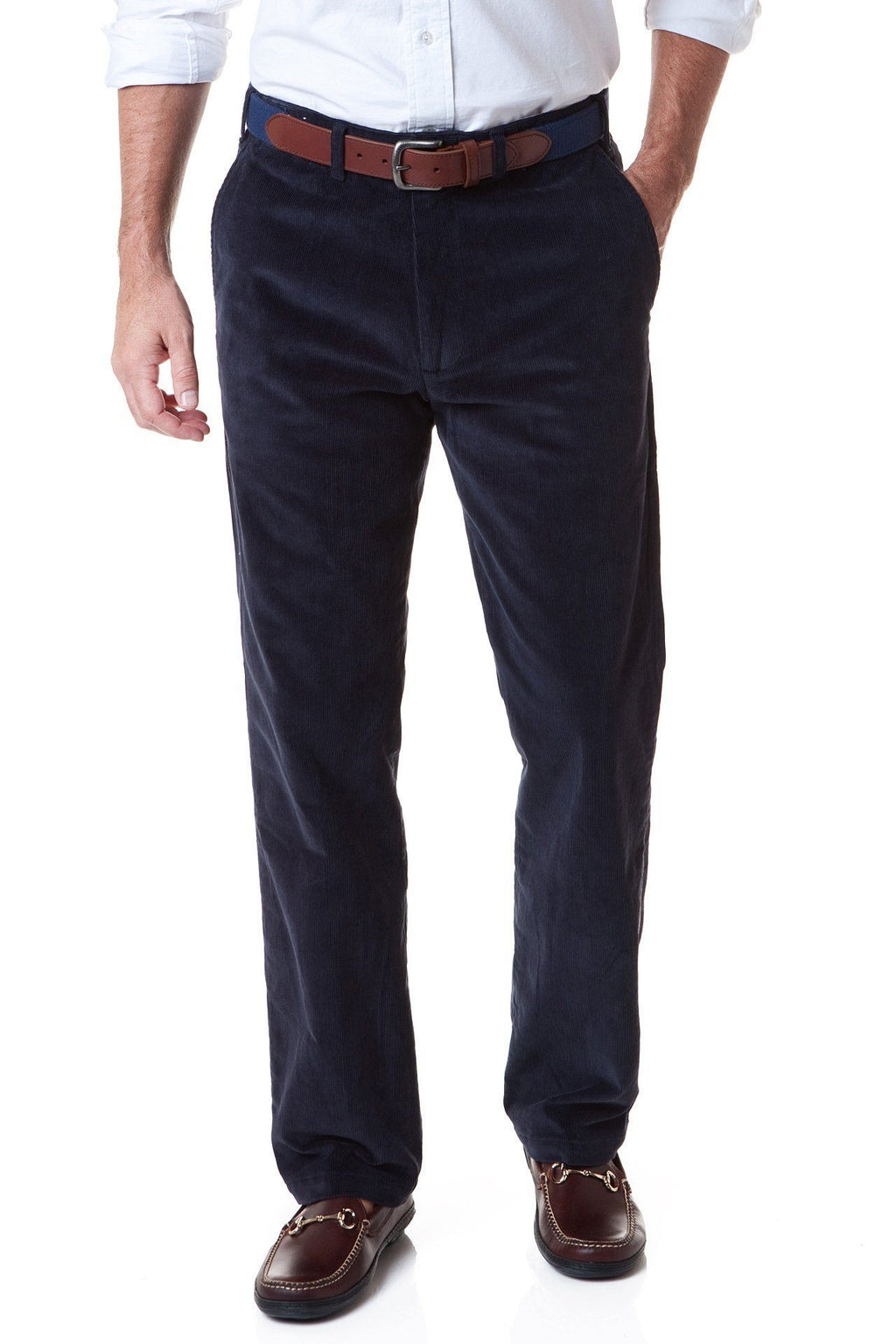 Beachcomber Stretch Corduroy Pant Nantucket Navy - MENS PANTS - Castaway Nantucket Island