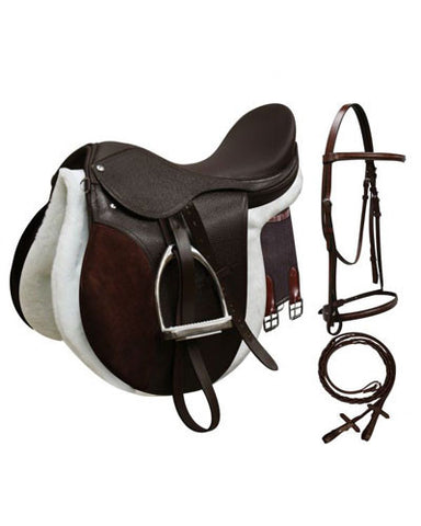 All Purpose English Saddle Set - #1003
