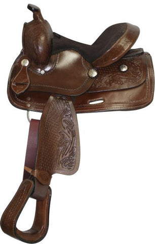 "10"" Double T Youth Saddle - 192210"