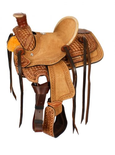 "10"" Double T  Pony Saddle - #1581710"