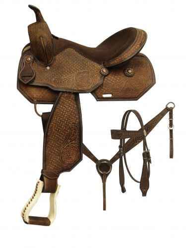 "16"" Pleasure Style Saddle - 07716"