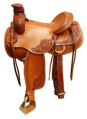"16"" Showman Argentina Cow Leather Roper Saddle - 662216"
