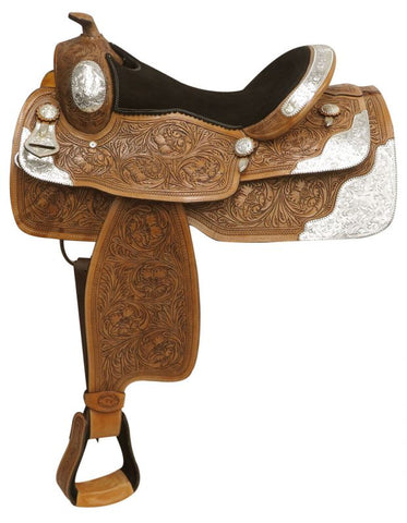 Double T Fully Tooled Show Saddle - #786216