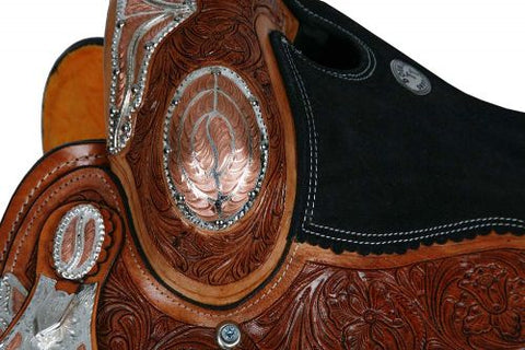 Double T Fully Tooled Show Saddle- #787516