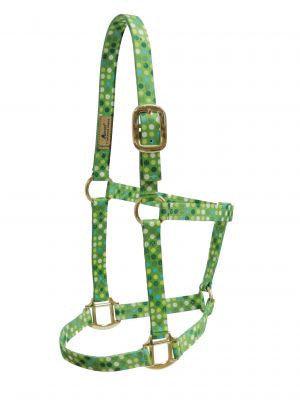 Accent Green Polka Dot Halter - 21370GND