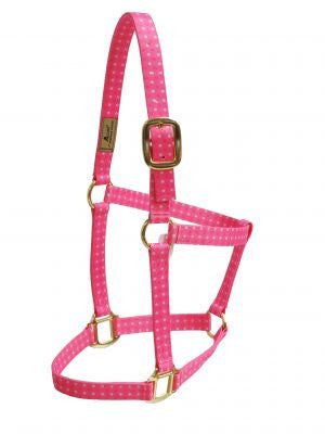 Accent Pink Polka Dot Halter - 21170PDT