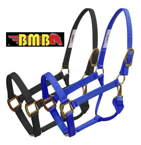 BMB Brass Plated Hardware Halter - 40578