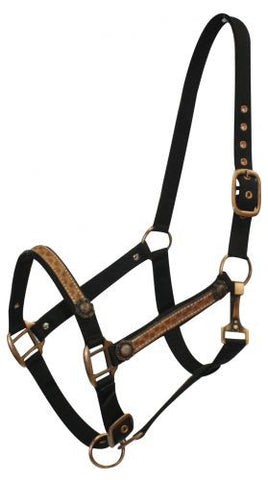 Black 2 Ply Nylon Halter - 15881