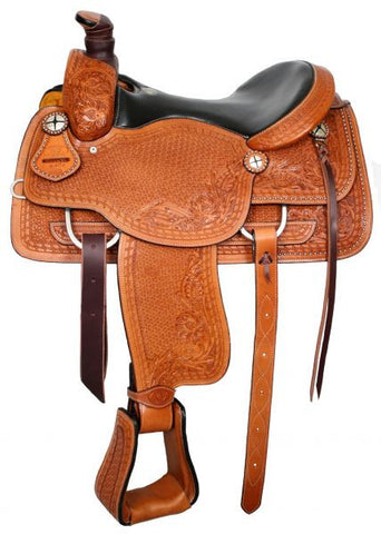 "16"" Circle S Roper With Leather Seat - 640116"