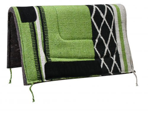 Diamond Design Acrylic Top Saddle Pad with Felt Bottom - 6072