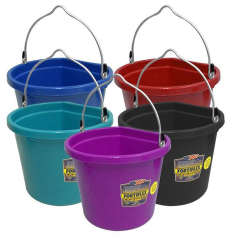 FortiFlex Plastic Bucket With Flat Back - FB-120