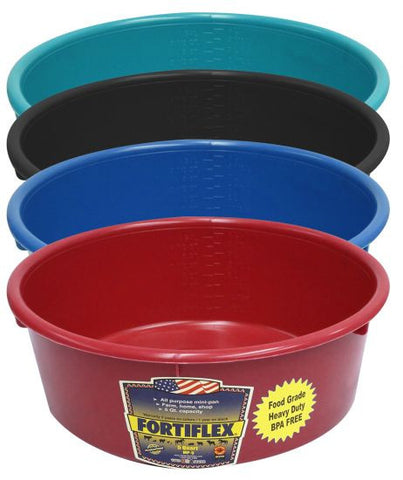 FortiFlex Plastic Feed Pan 5 QT - MP-5