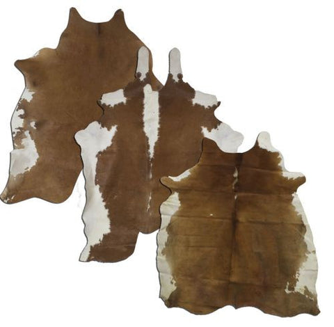 Full Brown And White Argentina Cowhide - 5065