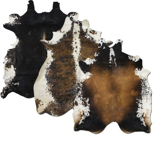Full TRI-Colored Argentina Cowhide - 5069