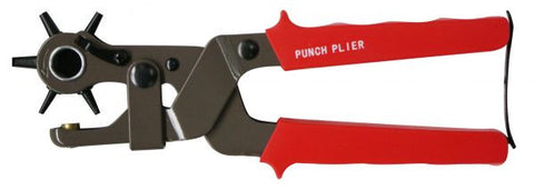 Heavy Duty Compound Leather Punch - 24474-9