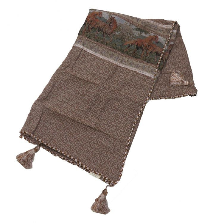 Horse Tapestry Throw Blanket - WS-0500-TH
