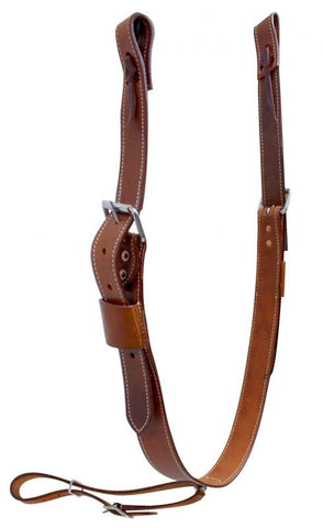 "Showman 1.75"" Wide Leather Back Cinch With Roller Buckles - 175581"