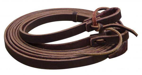 Showman Argentina Cowhide Leather Split Reins - 19072