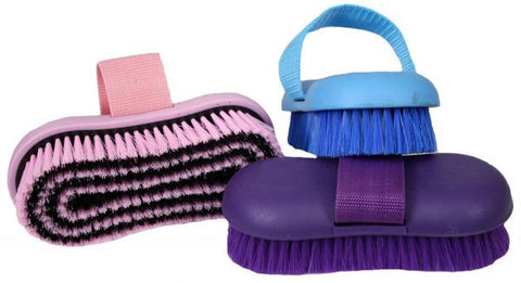 Showman Body Brush With Nylon Strap - 24563