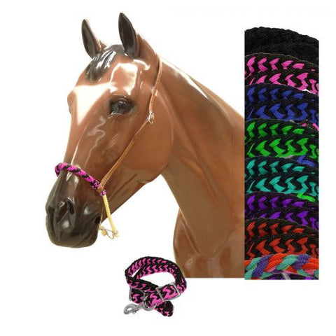 Showman Braided Nylon Rope Tie Down - 13203