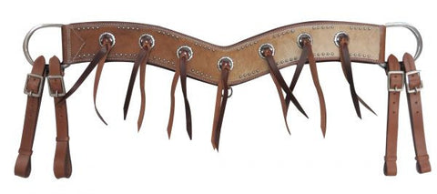 Showman Cowhide Tripping Collar - 13587