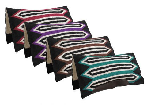 Showman Cutter Style Woven Wool Pad - 6232