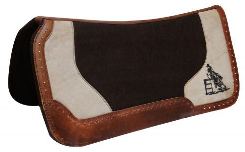 Showman Dark Brown Felt Pad - 6289