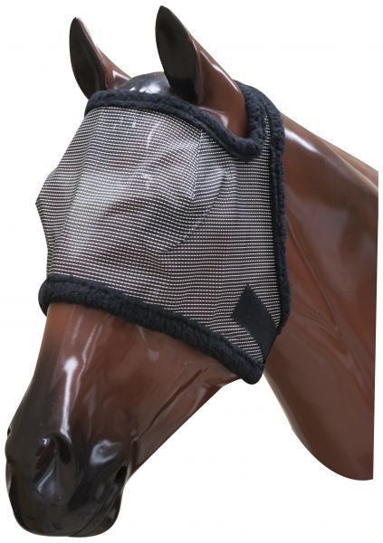 Showman Fleece Lined Fly Mask With Citronella Scent - 859275