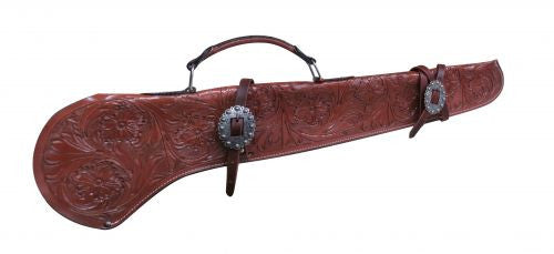Showman Floral Tooled Gun Scabbard - 176142