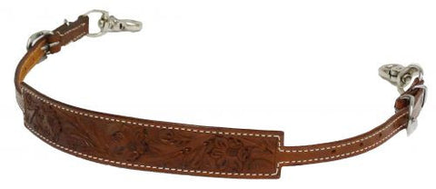 Showman Floral Tooled Wither Strap - 175885