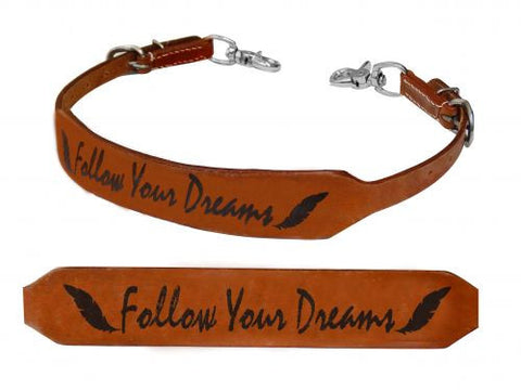 Showman Follow Your Dreams Branded Wither Strap - 175996