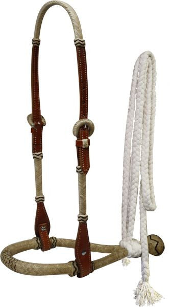Showman Leather Rawhide Braided Show Bosal - 7098