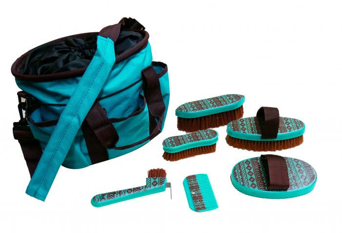 Showman Navajo Print Grooming Kit - 72BT001