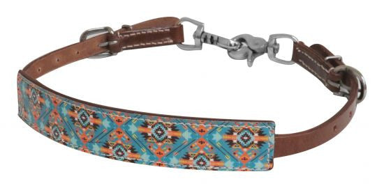Showman Navajo Print Wither Strap - 19302
