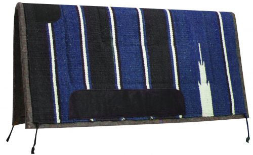 Showman Navajo Saddle Pad With Felt Bottom - 6119