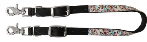 Showman Nylon Wither Strap With Print Overlay - 176005