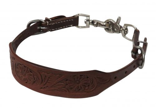 Showman Pony Floral Tooled Wither Strap - 19256