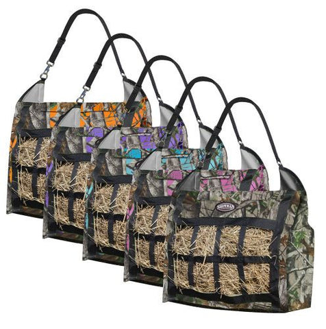 Showman Real Oak Slow Feed Hay Tote - 66-6728-P