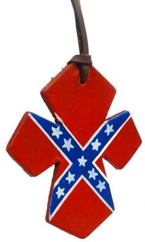 Showman Rebel Flag Painted Saddle Cross - 175914