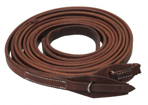 Showman Reins With Quick Change Bit Loops - 72008