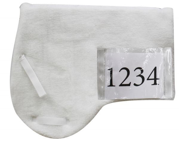 Showman White Fleece Competition Pad - 30992